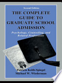 The Complete Guide to Graduate School Admission