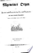 Allgemeines Organ für Handel und Gewerbe und damit verwandte Gegenstände