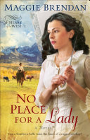 download ebook no place for a lady (heart of the west book #1) pdf epub