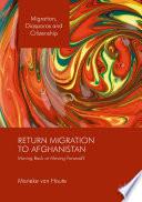 Return Migration to Afghanistan