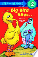 Big Bird Says     Sesame Street