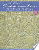 Hari Walner s Continuous Line Quilting Designs
