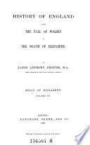 Reign Of Elizabeth Volume Iii