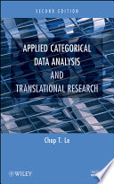 Applied Categorical Data Analysis and Translational Research
