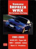 Subaru Impreza Wrx Performance Portfolio 2001 2005