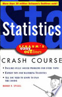 Schaum s Easy Outline of Statistics