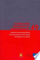 Definition and Development of Human Rights and Popular Sovereignty in Europe