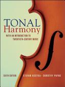 Tonal Harmony with Workbook and Workbook Cd