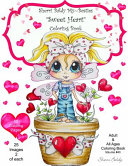 Sherri Baldy My Besties Sweet Heart Coloring Book