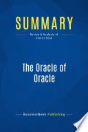 Summary  The Oracle of Oracle