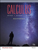 Calculus Multivariable 11th Edition Binder Ready Version