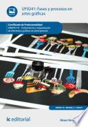 Fases y procesos en artes gr  ficas  ARGP0110