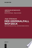 Der Kriminalfall Woyzeck