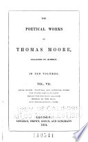 The Poetical Works of Thomas Moore  Lalla Rookh  cont   Political and satirical poems  The Fudge family in Paris  Fables for the Holy alliance  Rhymes on the road  Miscellaneous poems Book PDF