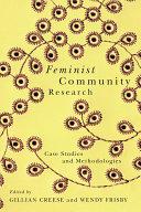 Feminist Community Research