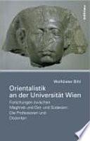 Orientalistik an der Universität Wien
