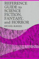 Reference Guide to Science Fiction, Fantasy, and Horror
