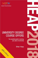 Heap 2018: University Degree Course Offers