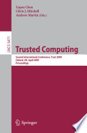 Trusted Computing