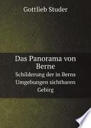 Das Panorama von Berne