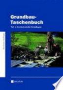 Grundbau-Taschenbuch, Teil 1: Geotechnische Grundlagen