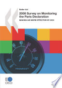 Better Aid 2008 Survey On Monitoring The Paris Declaration Making Aid More Effective By 2010