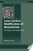 Laser Surface Modification of Biomaterials