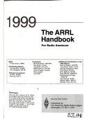 The ARRL Handbook for the Radio Amateur