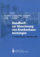 Handbuch zur Abrechnung von Krankenhausleistungen