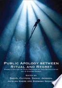 Public Apology between Ritual and Regret.