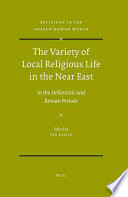 The Variety of Local Religious Life in the Near East
