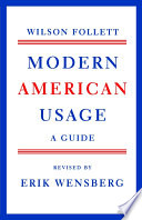 Modern American Usage