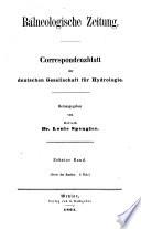 Balneologische Zeitung