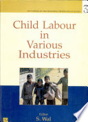 Child Labour In Various Industries book