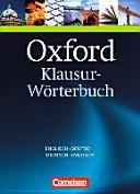 Oxford Klausur W  rterbuch