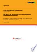 Der Beitritt der Europäischen Union zur Europäischen Menschenrechtskonvention