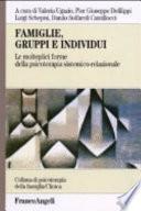 Famiglie  gruppi e individui  Le molteplici forme della psicoterapia sistemico relazionale