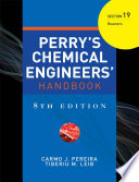 PERRY S CHEMICAL ENGINEER S HANDBOOK 8 E SECTION 19 REACTORS  POD