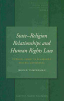 State-Religion Relationships and Human Rights Law