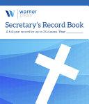 Secretary S Record Book