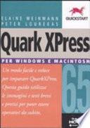 illustration Quark XPress 6.5. Per Windows e Macintosh
