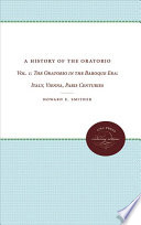 A History of the Oratorio  The oratorio in the nineteenth and twentieth centuries