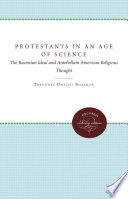 Protestants in an Age of Science