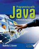 Programming with Java  A Multimedia Approach