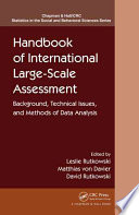 Handbook of International Large Scale Assessment