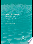 Marx s  Capital   Routledge Revivals