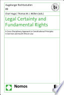 Legal Certainty And Fundamental Rights