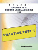 TExES English As a Second Language  ESL  154 Practice Test 1