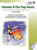 Famous   Fun Pop Duets  Book 5