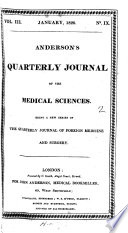 Anderson S Quarterly Journal Of The Medical Sciences